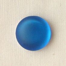 14mm Round Lunasoft Cabochon Blueberry - 1